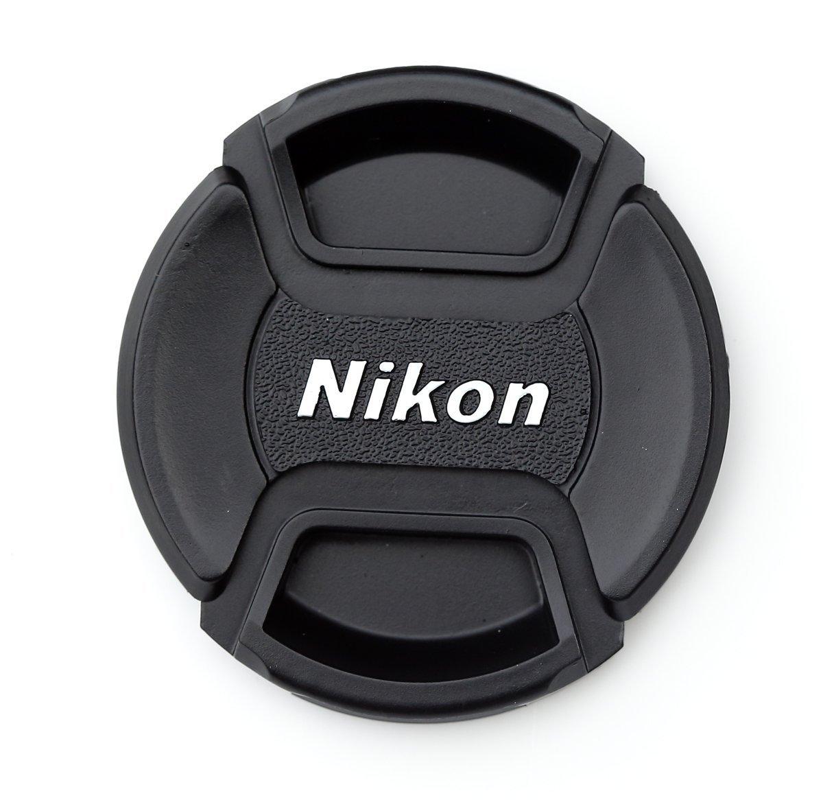 2PCS Nikon 77mm Center Pinch Lens Cap, Camera Lens Cover, Camera Lens Cap