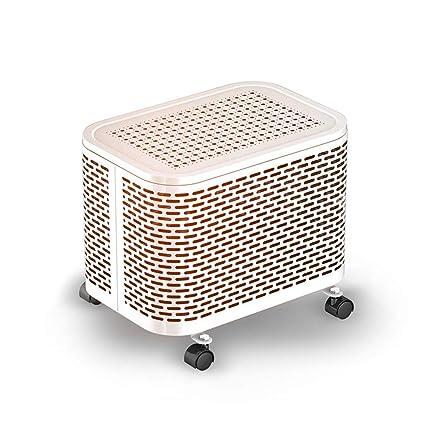 HONGREN Mini Radiador Lleno De Aceite, Calentador EléCtrico Casero del ZóCalo del Aceite Ahorro De