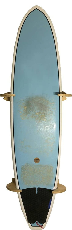 Bastidores de madera maciza hechos a mano para tabla de surf y tabla de snowboard - modelo