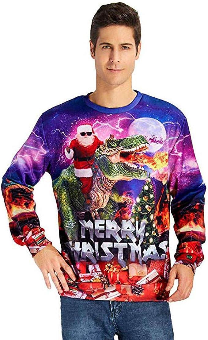 K-Youth Disfraz Navidad Pareja Sudadera Hombre Invierno Ropa ...