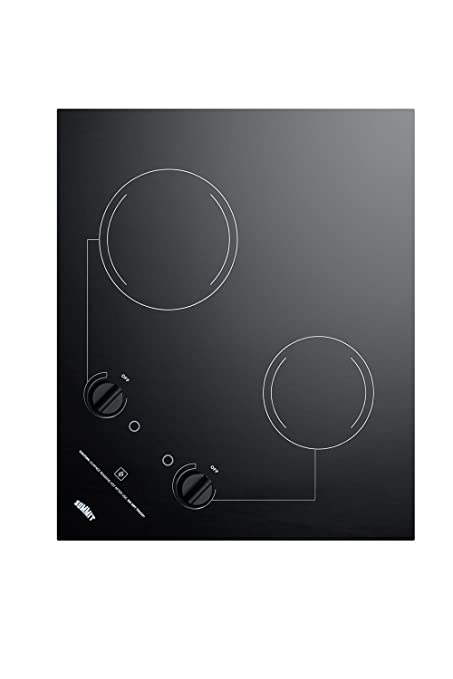 Amazon.com: Summit cr2b121 Electric Cooktop, color negro ...