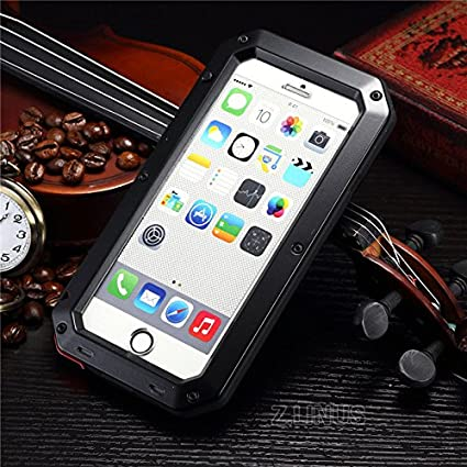 Amazon.com: ITB iPhone 5, 5S, 6, 6s o 6S Plus Funda de metal ...