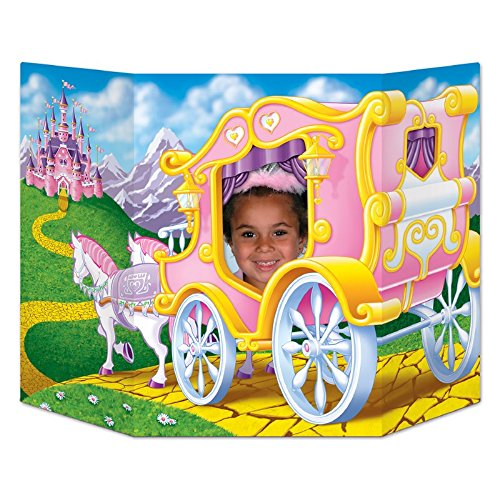 - Pack of 6 Princess Themed Royal Carriage Ride Photo Prop Decorations 37
