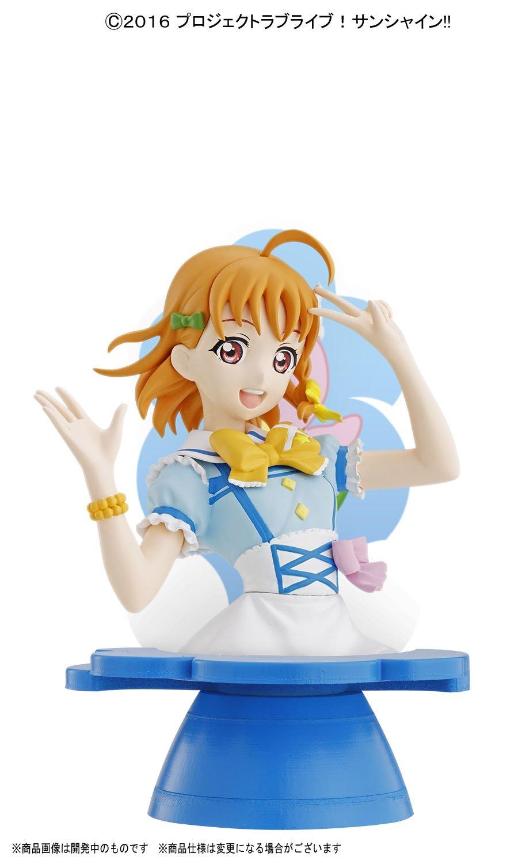 Bandai Hobby Takami Chika Love Live Bandai Figure-Rise Bust Figure Bust Bluefin Distribution Toys BAN214486 Sunshine!!