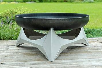Outdoor Küche Edelstahl Xxl : Desing feuerschale arka lagerfeuer mit unterbau aus edelstahl