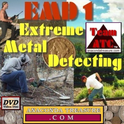 EMD1 Extreme Metal Detecting 1 DVD Video