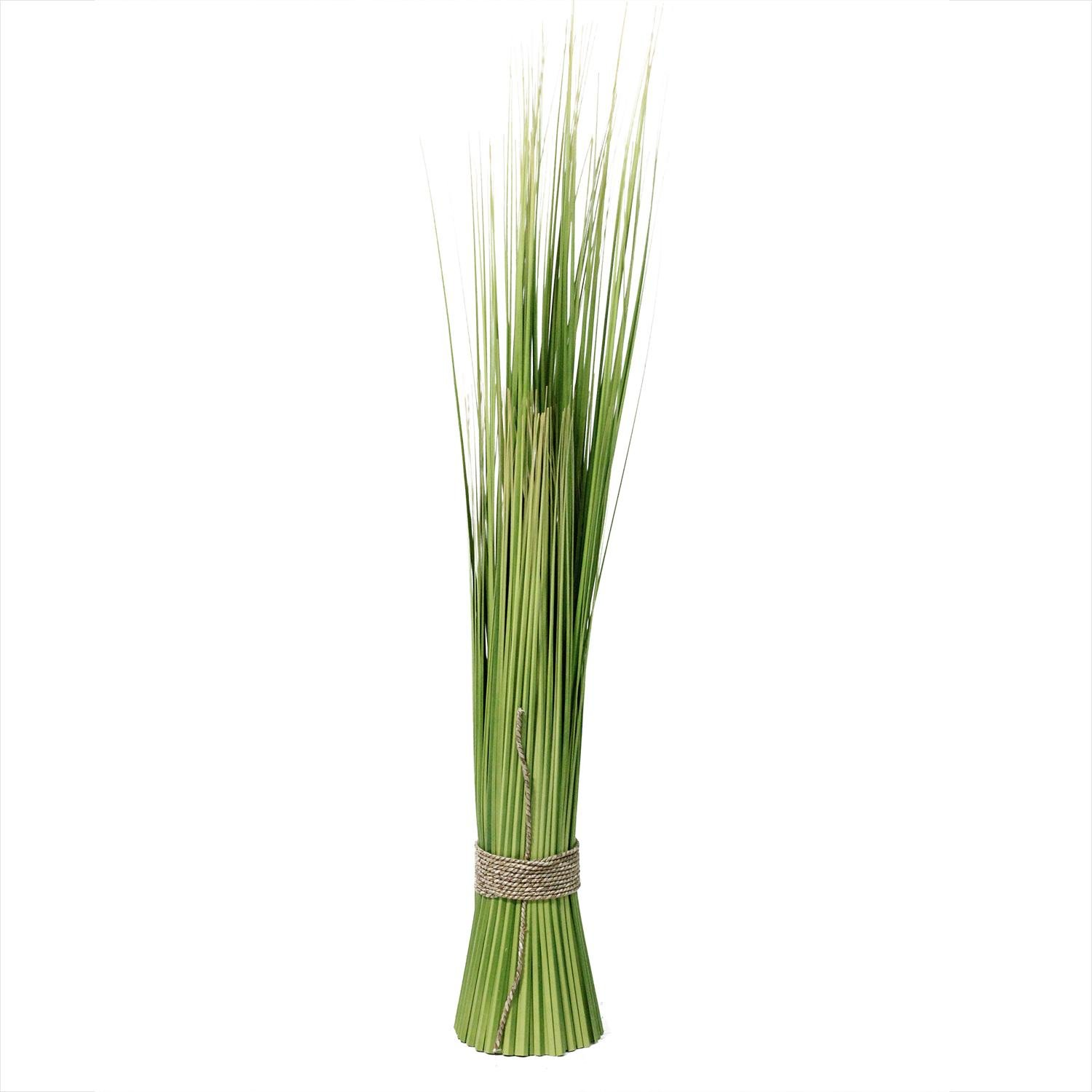 NorthLight 37.75 in. Green & Yellow Artificial Onion Grass Bundle Wrapped with Decorative Tan Rope B01CWFY5ZG