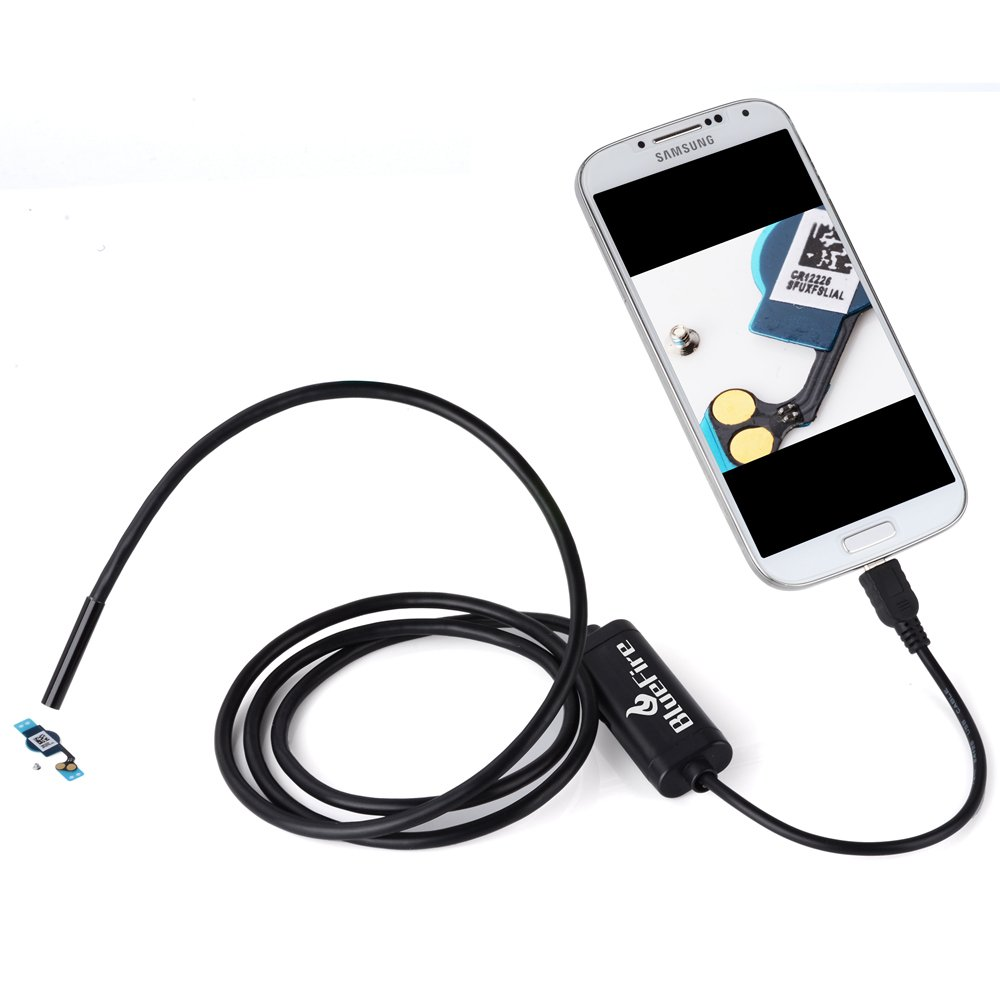 Amazon.com: BlueFire 7mm 5M Android OTG Endoscope Tube for Phones ...