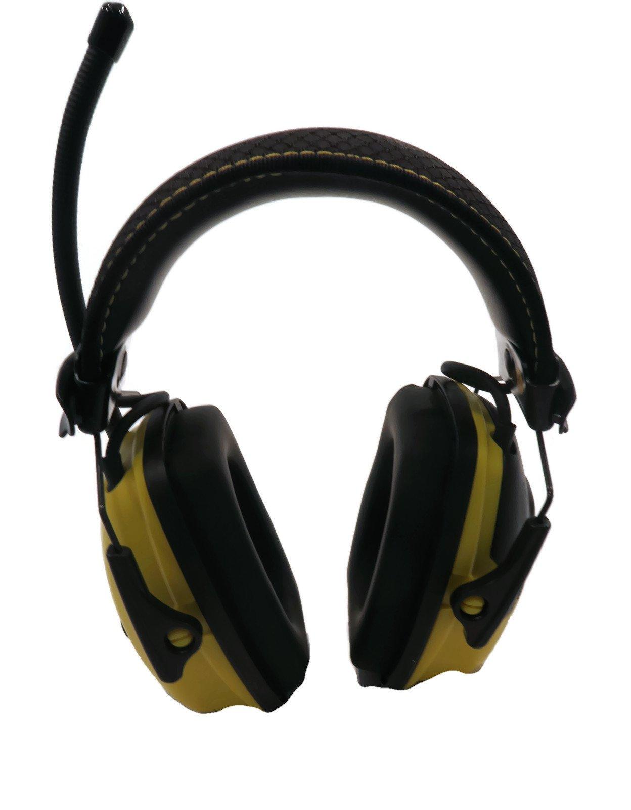 Stanley Sync Digital AM/FM/MP3 Radio Earmuff (RST-63012) by Stanley (Image #6)