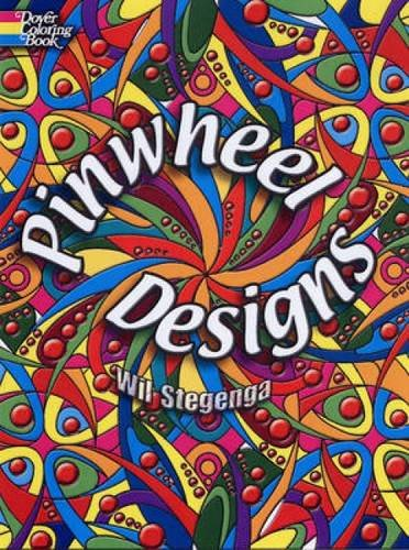 (Pinwheel Designs (Dover Design Coloring Books))