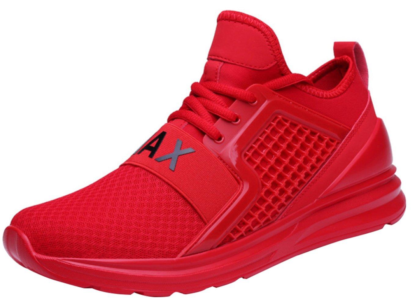 Zapatillas Casuales De Los Hombres Con Zapatos De Senderismo Transpirables De Moda 44EU Red