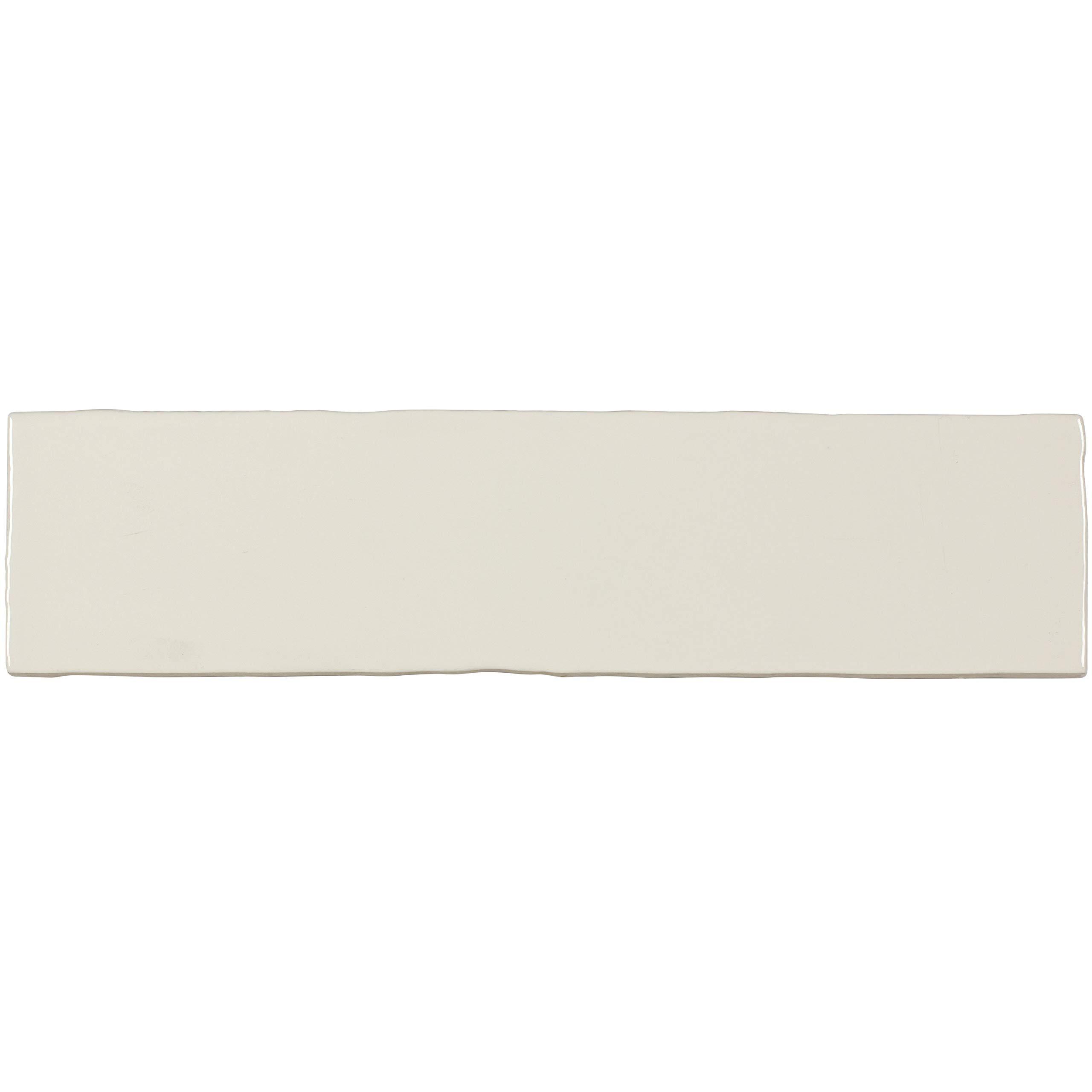 MTO0440 Classic Subway Off White Glossy Ceramic Tile