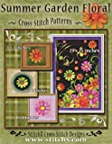 Summer Garden Floral Cross Stitch Patterns, Tracy Warrington, 148109016X