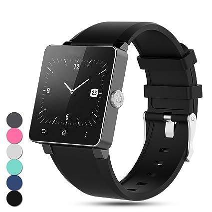 Amazon.com: Feskio For Sony Smartwatch 2 SW2 Strap ...