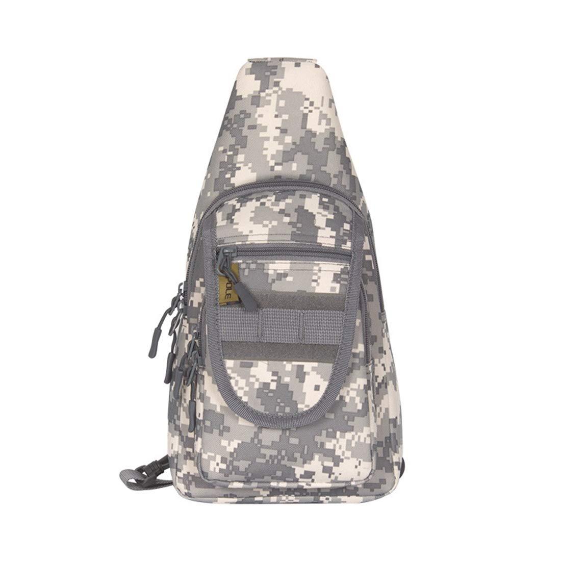 Color : Black RABILTY Outdoor Backpack Sport Daypack Shoulder Bag for Camping Hiking Trekking Rover Sling Pack Chest Pack