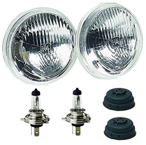 HELLA 002850811 135mm H4 High/Low Beam Halogen Conversion Headlamp (Hella Headlamp)