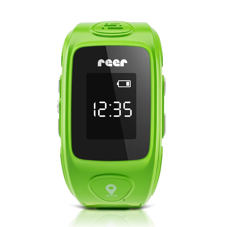 Reer AngelGuard GPS-Uhr für Kinder, mit Notruf-Funktion und Telefonfunktion für ein rundum sicheres Gefühl