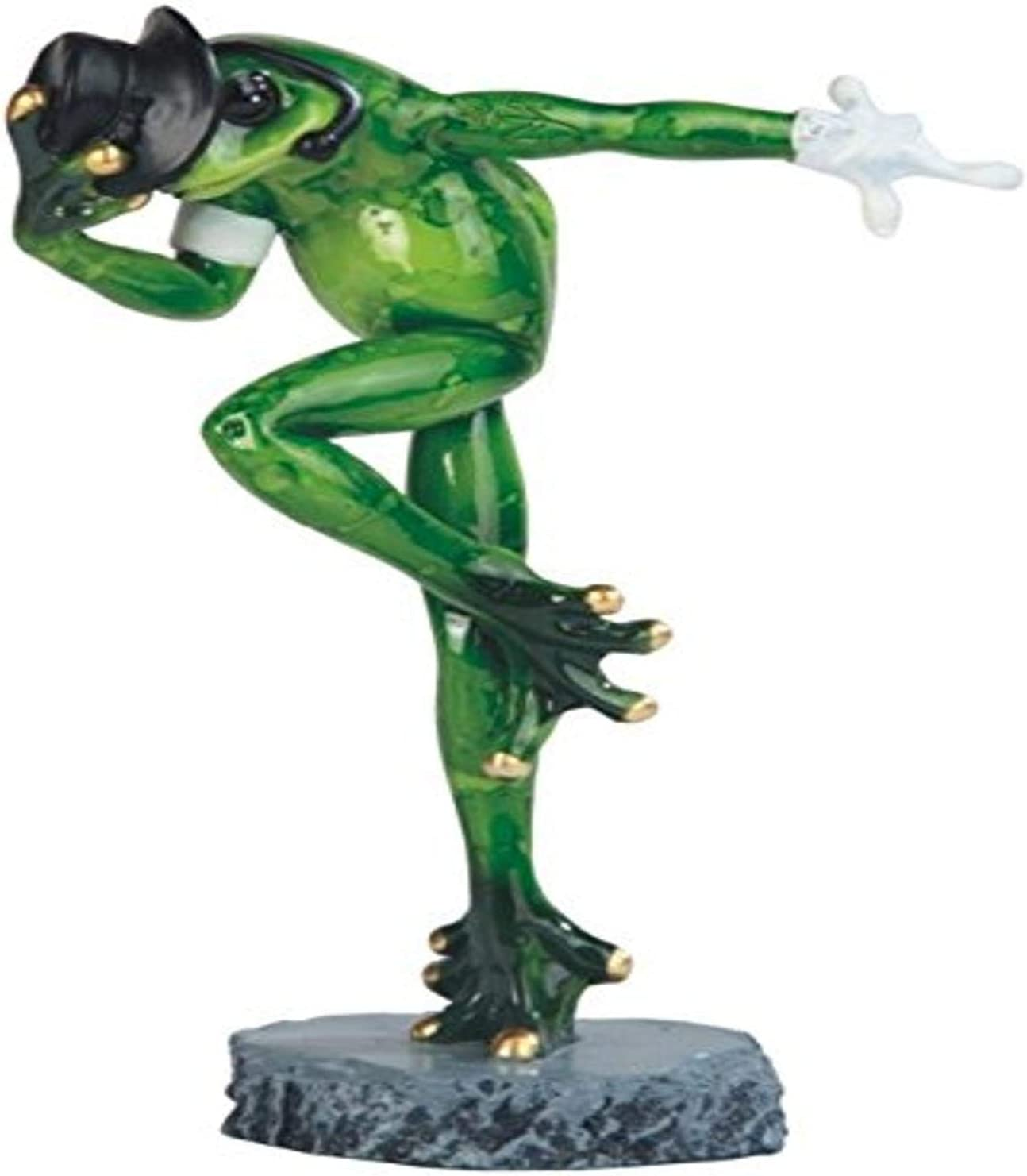 """StealStreet SS-G-61177 Michael Jackson Frog with Glove Statue, 7.5"""""""