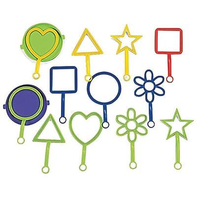 HAVE A BLAST! BUBBLE WANDS 14PCS - Toys - 14 Pieces: Toys & Games