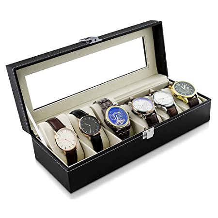 High End Watch Display Box Storage Box Watch Box For 6 Watches 32 X