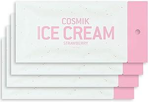 COSMIK Freeze Dried Ice Cream 4 Pack Strawberry