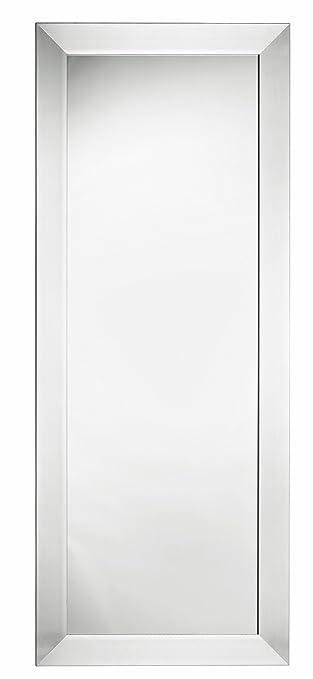 Wandspiegel Silber Modern spiegel wandspiegel silber modern 150x60 cm holzrahmen