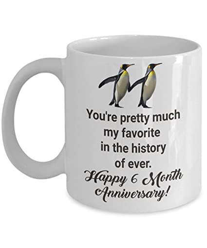 amazon com 6 month dating anniversary gifts for boyfriend from