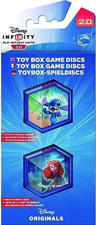 Disney Infinity 2.0 - Toy Box Game Discs: Disney Pack: Amazon.es: Videojuegos