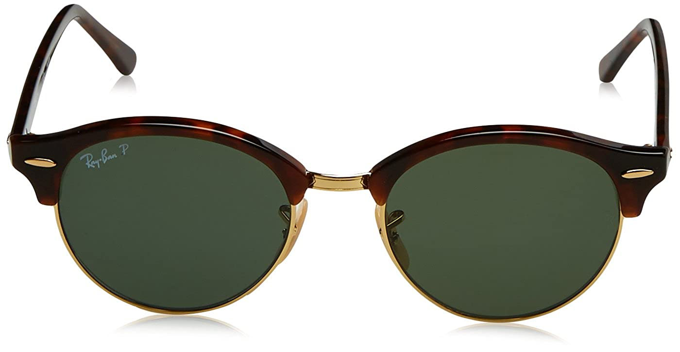 Ray-Ban Clubround Gafas de sol, Red Havana, 51 Unisex-Adulto ...
