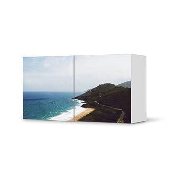 Möbeldeko Für IKEA Besta Regal Quer 2 Türen | Deko Folie Klebefolie Sticker  Tapete Möbel