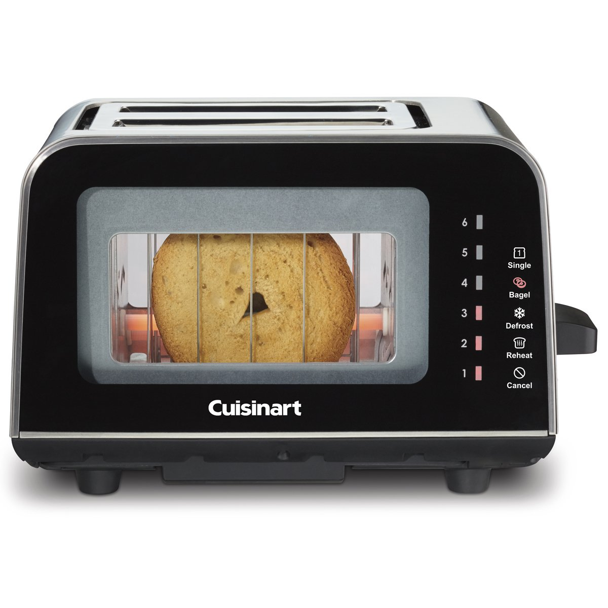 Cuisinart ViewPro Glass 2-Slice Toaster - CPT-3000C