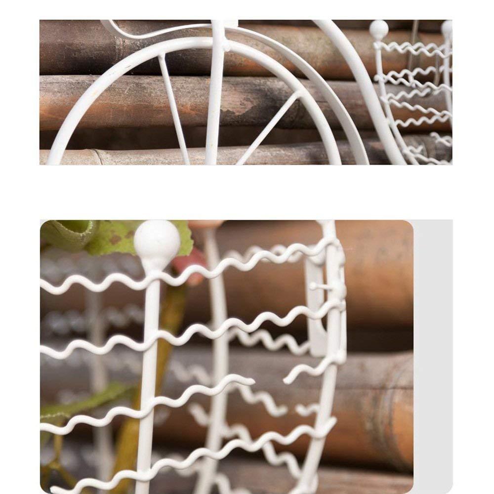 WZC Estantes para Plantas estantes para Colgar en la Pared de Hierro de Estilo Europeo Estantes para Colgar en la Pared de Bicicletas Creativas para Uso en Interiores y Exteriores de jard/ín