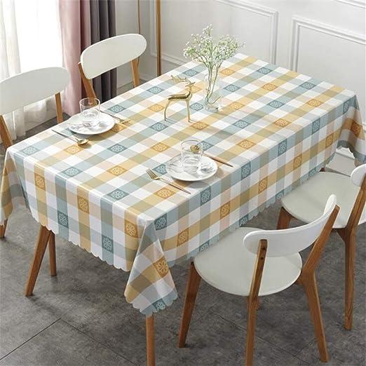 WENXIAOXU Mantel Mesa Rectangular para Comedor Cocina o Salón ...