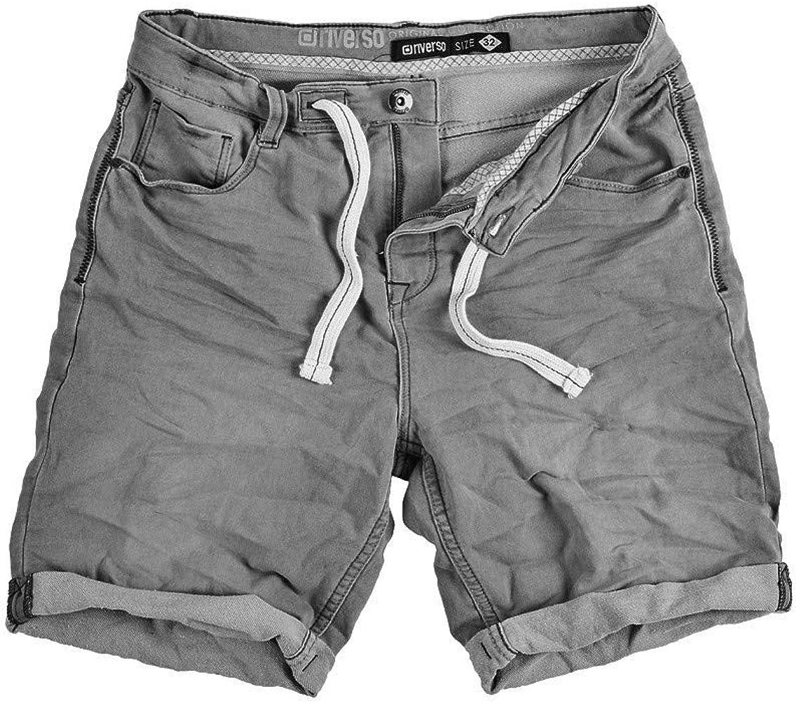 Riverso - Pantalones vaqueros cortos para hombre RIVFred para ...