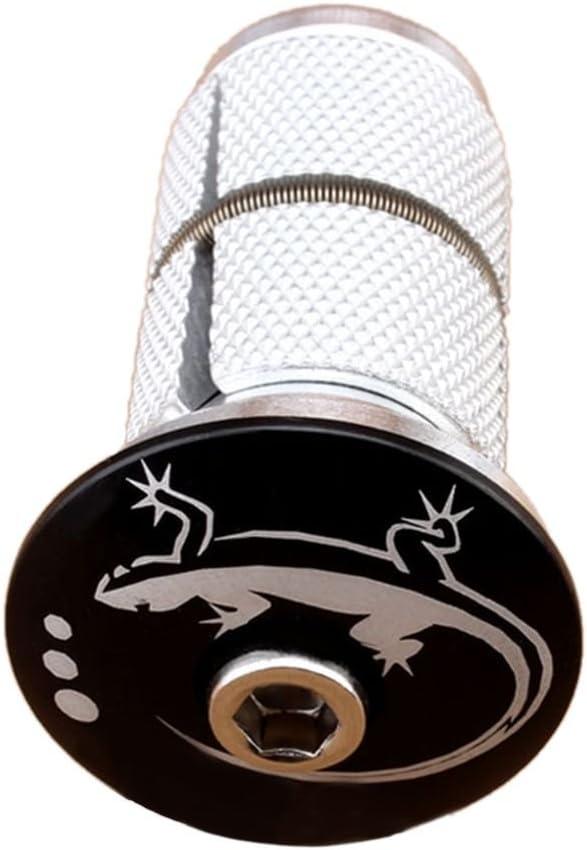 Lorsoul Aleaci/ón de Aluo de Auriculares de Bicicletas Compresor de expansi/ón Colgando Core Piezas de la Bici DE 28 6 mm de Fibra de Carbono Core Frente Tenedor