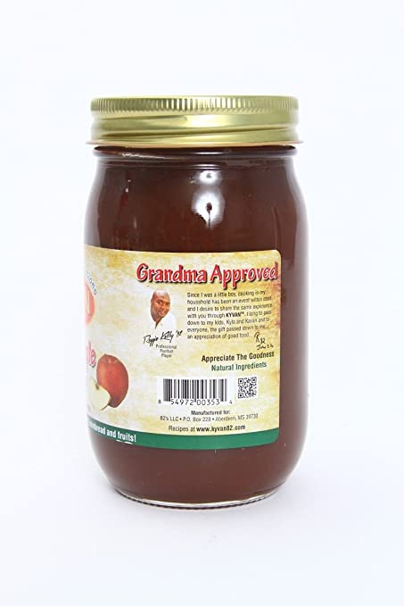 KYVAN Foods, Honey mantequilla de manzana, 1.67 oz: Amazon ...