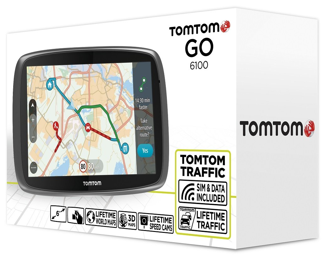Резултат с изображение за TOMTOM GO 6100 WORLD