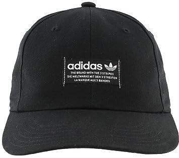 d7551c9423a adidas Men s Originals Slight Precurve Relaxed Fit Strapback Cap ...
