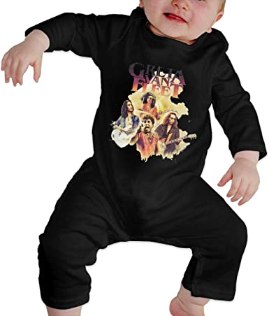 Fional Infant Long Sleeve Romper Greta-Van-Fleet Newborn Babys 0-24M Organic Cotton Jumpsuit Outfit