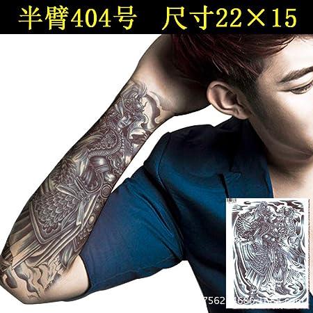 tzxdbh 3 Unids Impermeable Etiqueta Engomada del Tatuaje Masculino ...