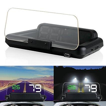 PolarLander C500 HD proyector de Pantalla Digital velocímetro ...