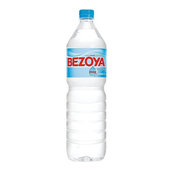 Bezoya - Agua Mineral Natural Botella 1.5 L