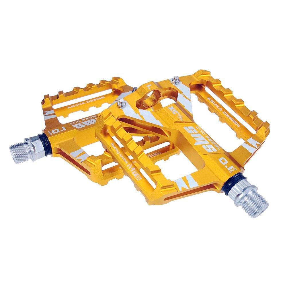 Aluminium en Alliage de V/élo Route P/édales VTT Ultra-l/éger V/élo Roulement /à P/édale Accessoires V/élo Sunneey P/édales pour V/élo