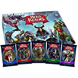Hero Realms card game: Starter Box plus all 5 Character Packs (Cleric, Fighter, Ranger, Thief, Wizard) - English