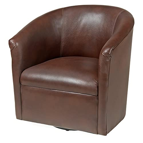 Comfort Pointe Draper Swivel Chair in Chocolate ,