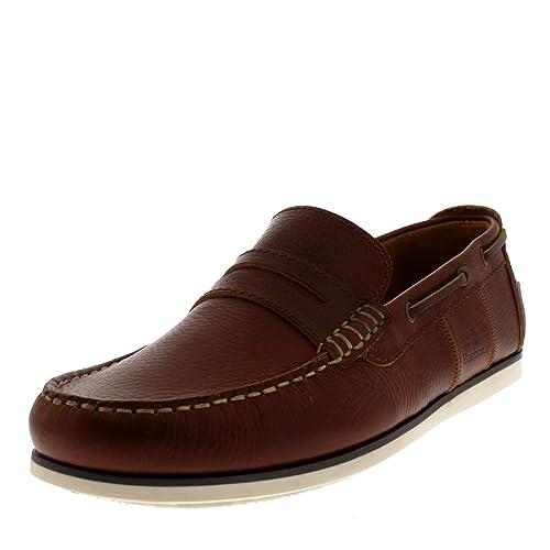 Barbour - Mocasines Hombres, (Coñac), 12 D(M) US: Amazon.es: Zapatos y complementos