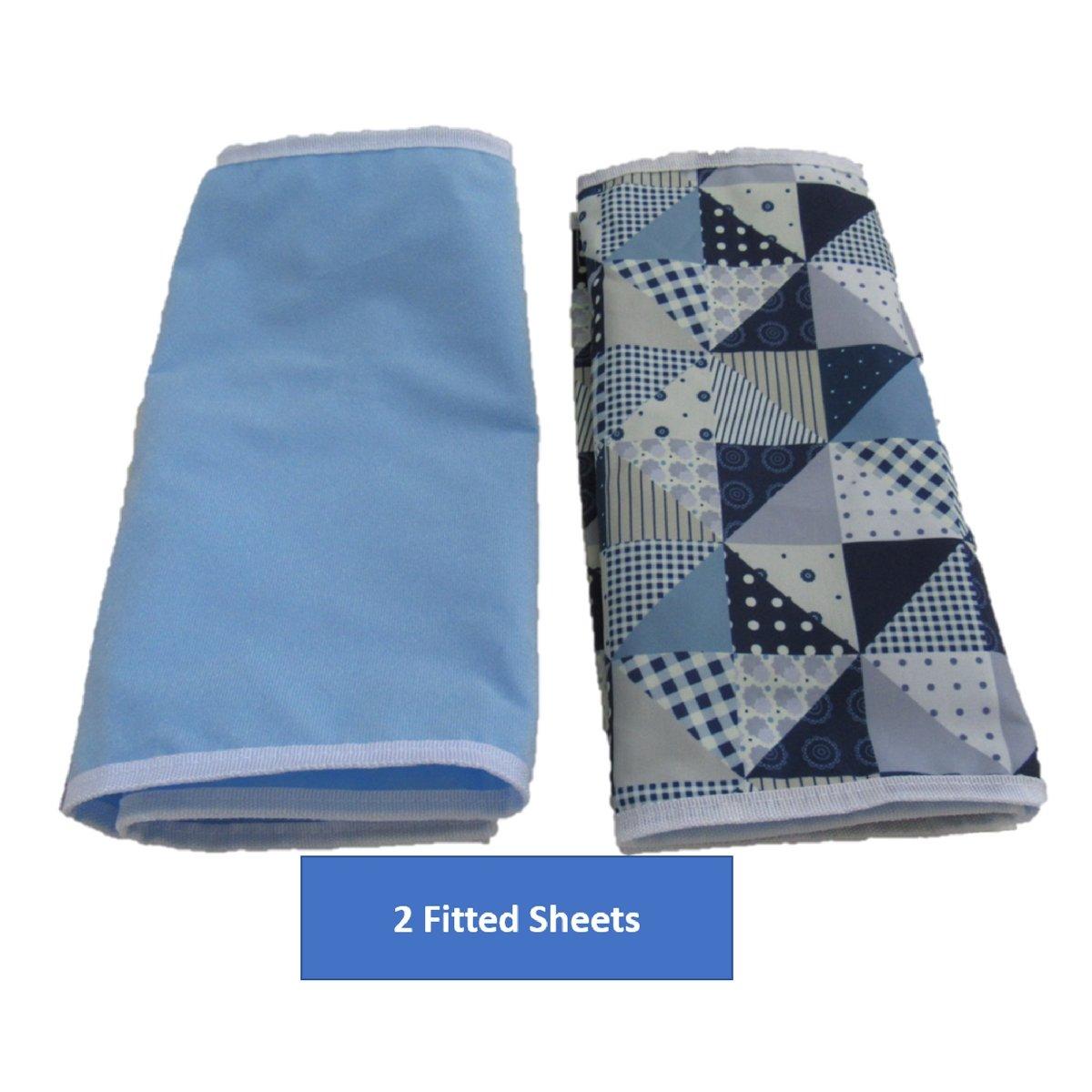 Amazon.com: Elegante juego de bolsas para pañales / se ...