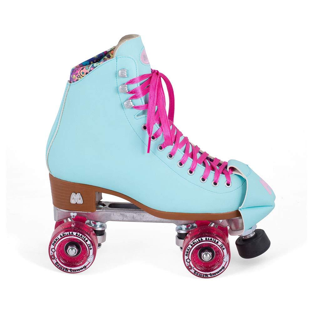 Moxi Skates - Beach Bunny - Fashionable Womens Roller Skates | Blue Sky | Size 2 by Moxi (Image #3)