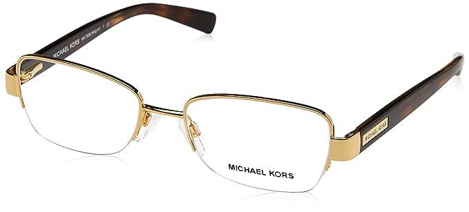 e1d69c861676d Michael Kors MITZI IV MK7008 Eyeglass Frames 1044-51 - Gold at ...