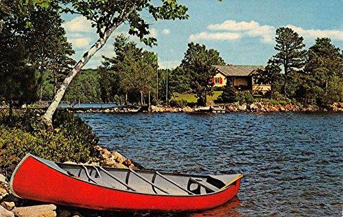 Oak Rowboat (Oak Ridge New Jersey Row Boats Waterfront Vintage Postcard K61744)